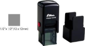 "Shiny S-510 Self-Inking Stamp. Impression Size: 1/2"" X 1/2"" (12 x 12mm)"
