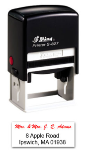 S-827 Two Color Stamp 7A