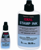 Maxlight Ink, Pre-Ink Ink, Flash Stamp Ink, Oil Based Ink, Rubber Stamp Ink, Self-inking Stamp ink, Ideal Ink, M&R Ink, Water Based Ink, Stamp Pad Ink